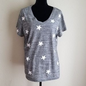 Reflex Stars V Neck Top Size 3XL